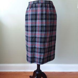 Pendleton wool Tartan skirt